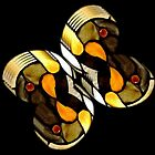*Tiffany Stained Glass Butterfly* by DeeZ (D L Honeycutt)