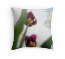 His mercies Throw Pillow
