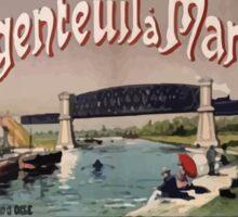 Gustave Fraipont Affiche Ouest Argenteuil Mantes Sticker