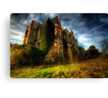 Nocton Hall Canvas Print