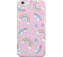 Unicorn Dream Pattern iPhone Case/Skin