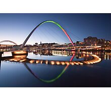 Rainbow Bridge Photographic Print