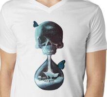 Until dawn - skull and butterflies Mens V-Neck T-Shirt