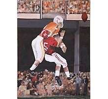 Tennessee vs Alabama 1967 Photographic Print