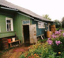 """Dacha"" (cottage?) In Kostroma, Soviet Union by EJ27"