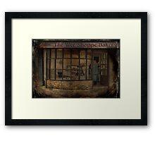 Ye Olde Bakers Shoppe Framed Print