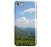 Blue Ridge Cloudy Sky iPhone Case/Skin