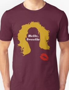 Doctor Who River Song Hello Sweetie Digital Art T-Shirt
