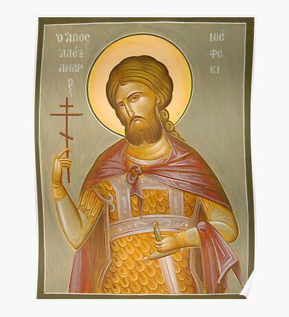 St Alexander Nevsky Poster