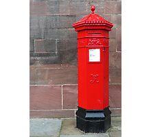 Red Pillar Box Photographic Print