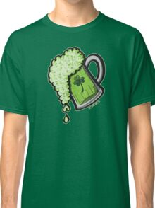 Saint Patrick's Day Glass of Beer Classic T-Shirt