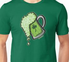 Saint Patrick's Day Glass of Beer Unisex T-Shirt