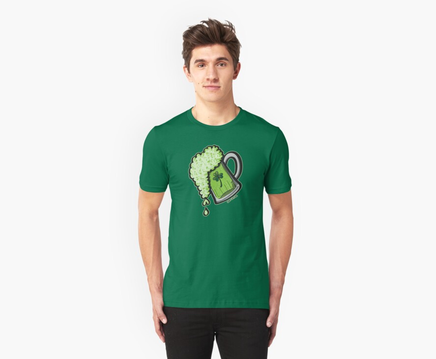 Saint Patrick's Day Glass of Beer by Zoo-co