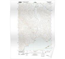 USGS Topo Map Washington Knappton 20110914 TM Poster