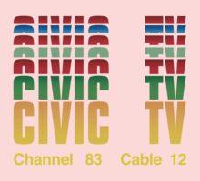 Civic TV Kids Tee