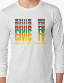 Civic TV Long Sleeve T-Shirt
