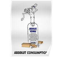 absolut consumption Poster