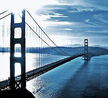 Blue Day @ Golden Gate Bridge by csouzas