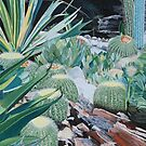 """THE SUCCULENT GARDEN"" by Barry Kadische"