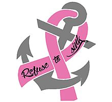 Breast Cancer - Anchor Photographic Print