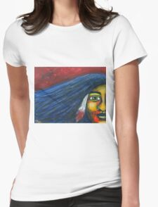 Warrior Woman Womens Fitted T-Shirt