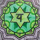 """Anahata: The Heart Chakra"" by Kaylee Hinrichs"