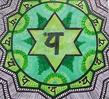 """Anahata: The Heart Chakra"" by Kaylee Hinrichs"