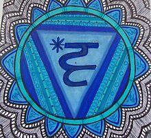 """Vishuddha: The Throat Chakra"" by Kaylee Hinrichs"