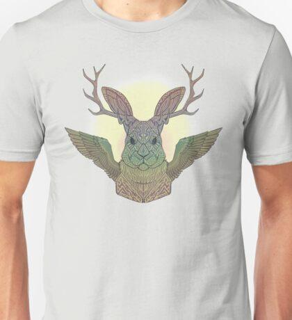 Soaring Wolpertinger Unisex T-Shirt
