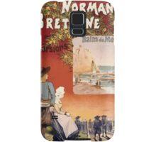 Gustave Fraipont Affiche Ouest Normandie Bretagne Samsung Galaxy Case/Skin