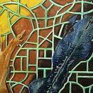326 - STRING ART V - DAVE EDWARDS - MIXED MEDIA - 2011 by BLYTHART