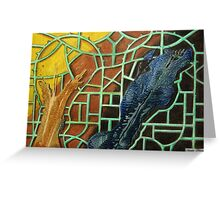 326 - STRING ART V - DAVE EDWARDS - MIXED MEDIA - 2011 Greeting Card