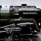 Steam locomotive - 70013 Oliver Cromwell by McBay