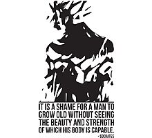 Strength and Beauty (Socrates) - Goku Photographic Print