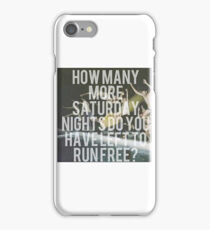 Saturday Nights  iPhone Case/Skin