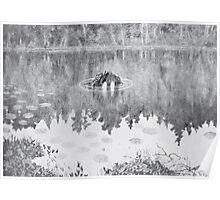 Theodor Kittelsen Nøkken 1887 92 The Water Sprite Poster