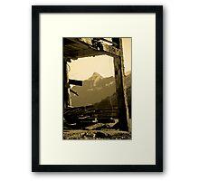 The Battered Bailey Barn Framed Print
