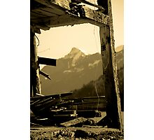 The Battered Bailey Barn Photographic Print