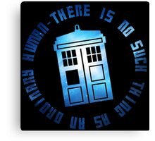 Doctor Who Galaxy TARDIS Print Canvas Print