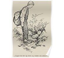 Theodor Kittelsen Per og Paal og Espen Askeladd Barne Eventyr1915p033 Poster