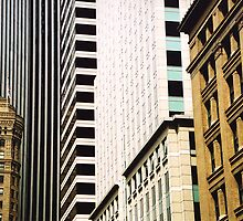 Buildings in San Francisco by Camille Wesser