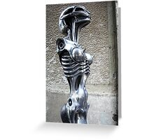 Giger's Girl Greeting Card
