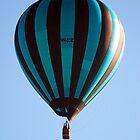 Hot Air Balloon over Drouin, Gippsland  by Bev Pascoe
