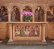 St Salvators Chapel Communion Table by GillBell