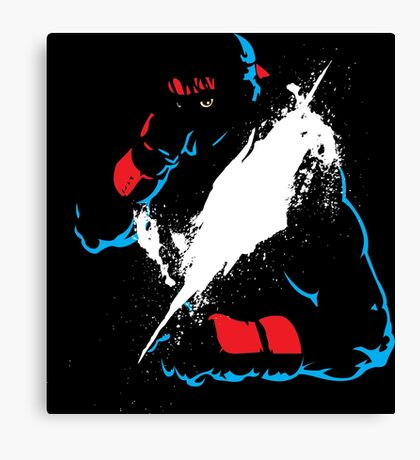 Fighter 2 Canvas Print