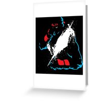 Fighter 2 Greeting Card