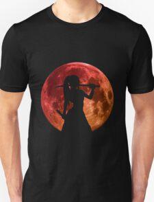 fairy tail erza scarlet titania moon anime manga shirt T-Shirt