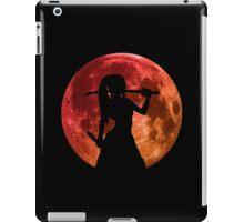 fairy tail erza scarlet titania moon anime manga shirt iPad Case/Skin
