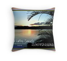 TWEED VALLEY SUNSETS Throw Pillow