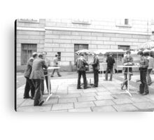1984 - berlin east: no coffee for the stasi? Canvas Print